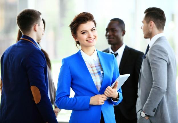 Bigstock Business Woman