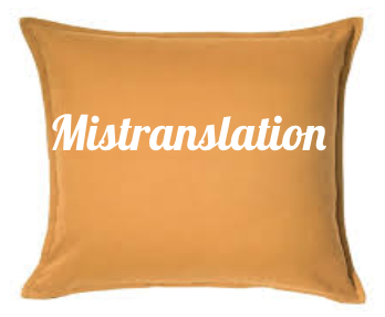 Mistranslation