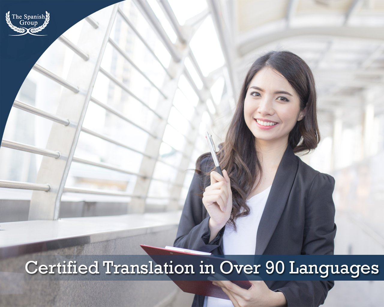 Certified Translation in Over 90 Languages