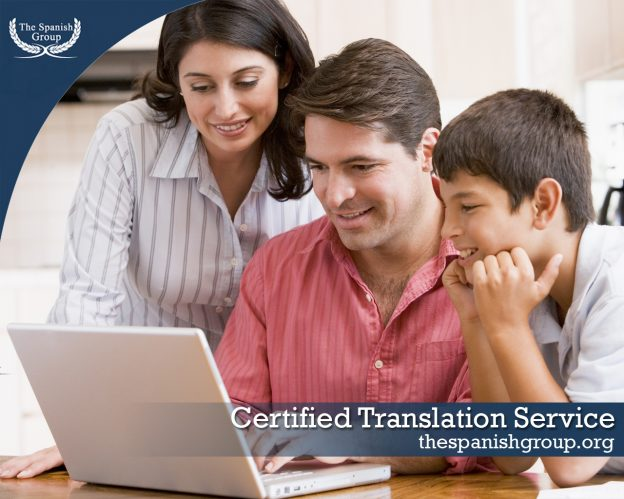 Certified Translation Service