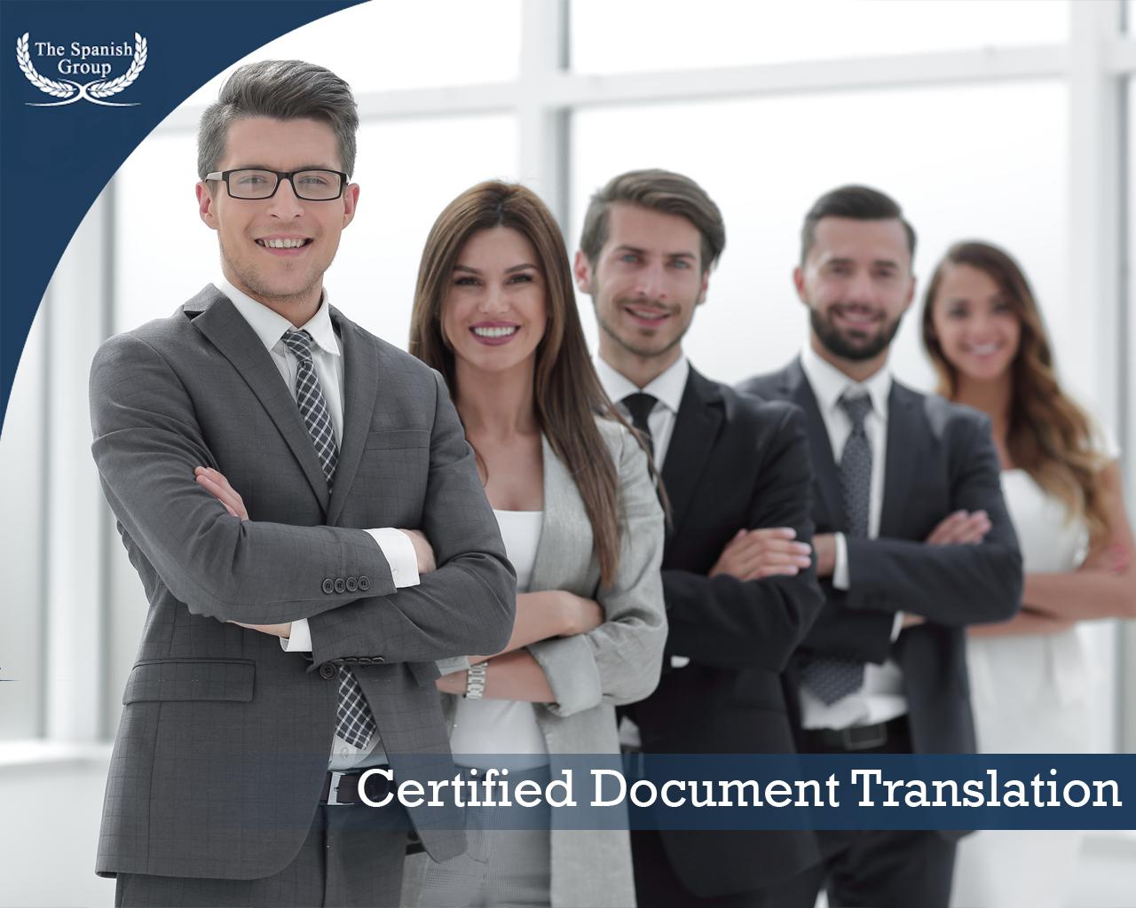 Certified Translation
